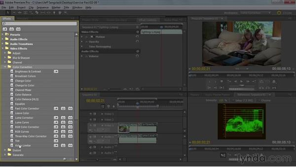 Welcome: Premiere Pro: Color Correction and Enhancement