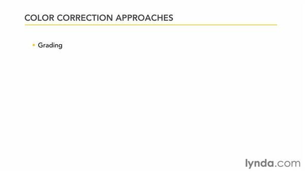Understanding color correction concepts: Premiere Pro: Color Correction and Enhancement