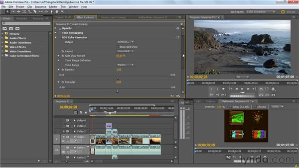 Presenting the Premiere Pro color correction workflow: Premiere Pro: Color Correction and Enhancement
