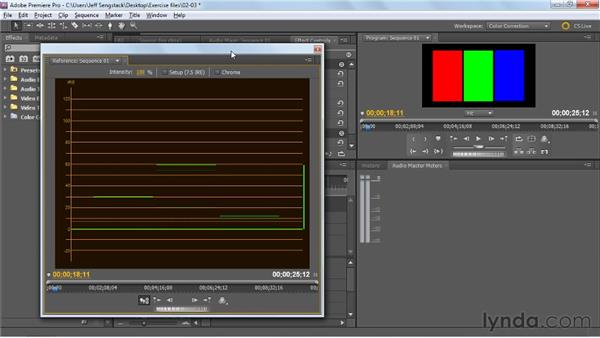 Using the Waveform monitor: Premiere Pro: Color Correction and Enhancement