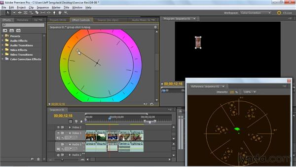 Fixing color cast, skin tone, and other color issues: Premiere Pro: Color Correction and Enhancement