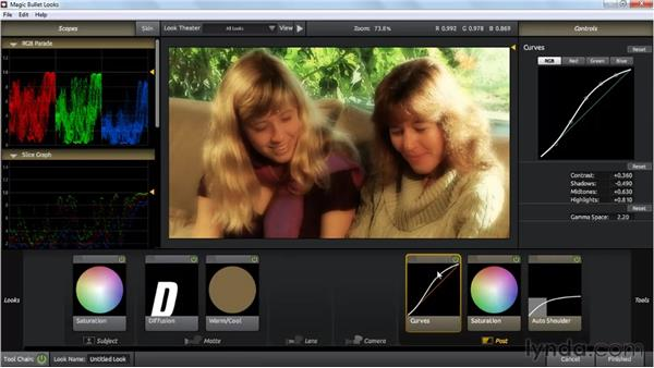 Working with Magic Bullet Looks: Premiere Pro: Color Correction and Enhancement