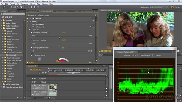 Working with Magic Bullet Colorista in Premiere Pro: Premiere Pro: Color Correction and Enhancement