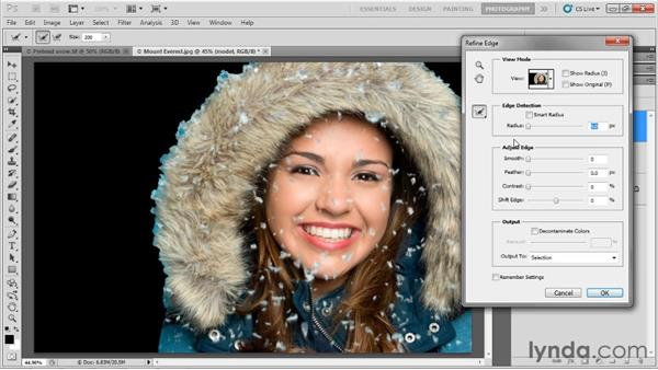 Working with layers: Up and Running with Photoshop for Photography