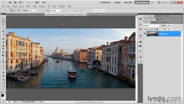 Saving your image: Up and Running with Photoshop for Photography