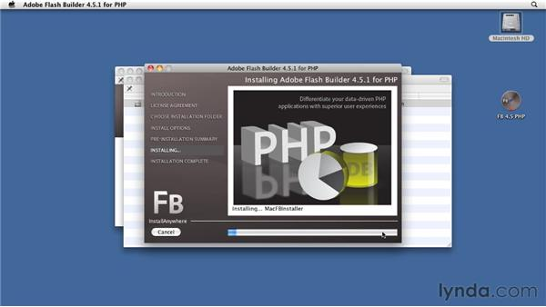 Installing Flash Builder 4.5 for PHP: Flex 4.5 and PHP: Creating Data-Driven Applications