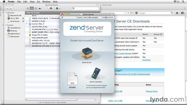 Installing Zend Server: Flex 4.5 and PHP: Creating Data-Driven Applications