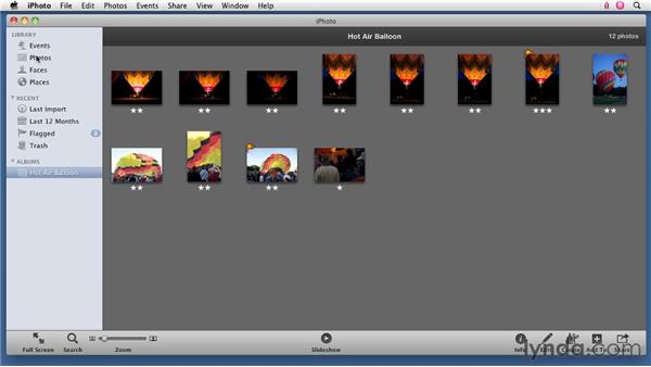 Setting up albums in iPhoto: Organizing and Archiving Digital Photos