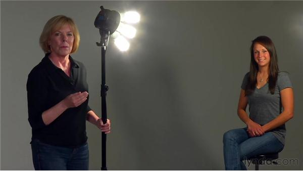 Two-light setup: The Elements of Effective Photographs