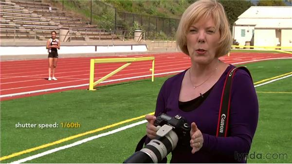 Camera settings for freezing or blurring motion: The Elements of Effective Photographs