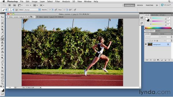 Creating blur in Photoshop: The Elements of Effective Photographs