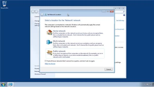 Setting a network location (Windows): Small Office Networking to Connect, Share, and Print
