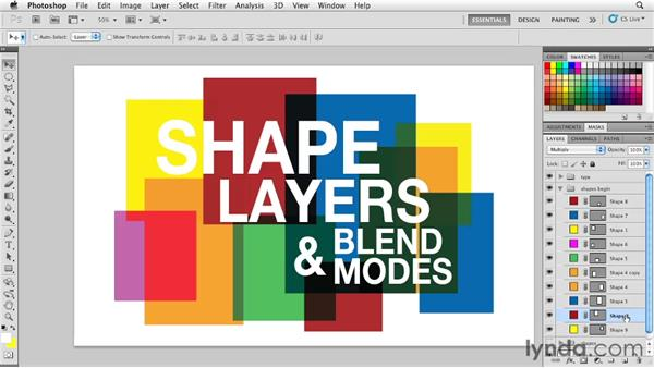 Welcome: Photoshop for Designers: Shape Layers