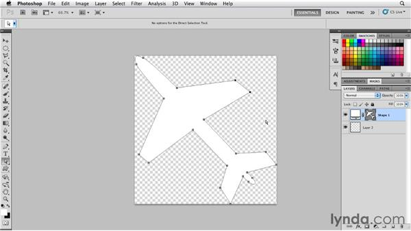 Applying Smart Filters to shape layers: Photoshop for Designers: Shape Layers