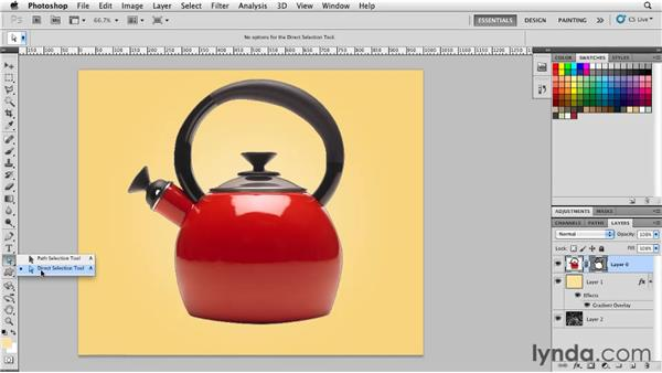 What is a vector mask?: Photoshop for Designers: Shape Layers