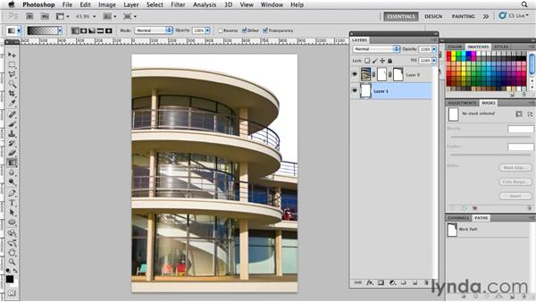 Combining vector masks with layer masks: Photoshop for Designers: Shape Layers