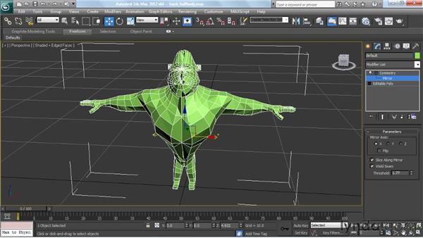 : Modeling a Character in 3ds Max