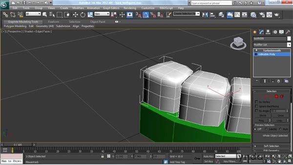 Making the teeth and gums: Modeling a Character in 3ds Max