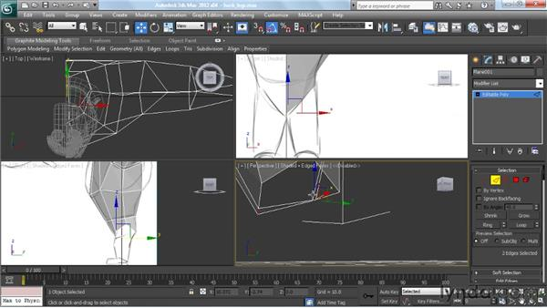 Building the hips, legs, and feet : Modeling a Character in 3ds Max