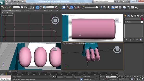 Making fingers and finishing the hand: Modeling a Character in 3ds Max