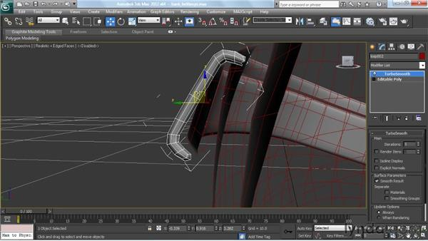 Making the belt loops: Modeling a Character in 3ds Max