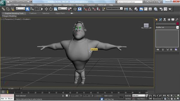 Thinking about artistic appeal: Modeling a Character in 3ds Max
