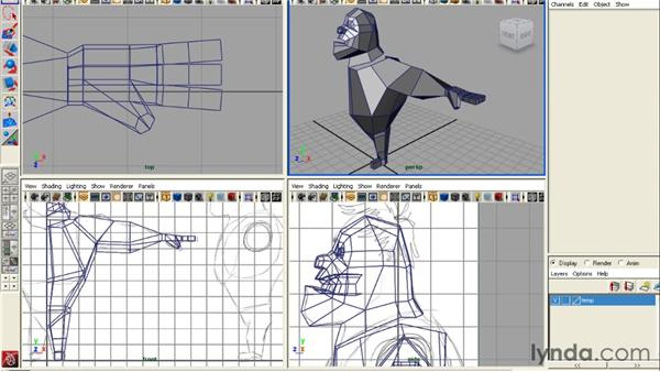 Recapping the most important concepts: Modeling a Character in 3ds Max