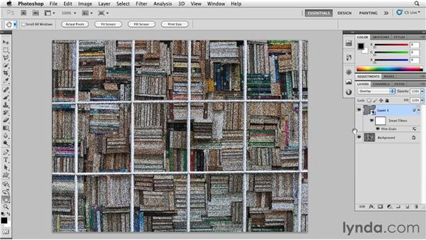 Painting with grain: Photoshop for Designers: Textures