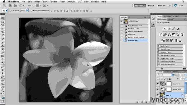 Beyond the Mezzotint filter: Photoshop for Designers: Textures