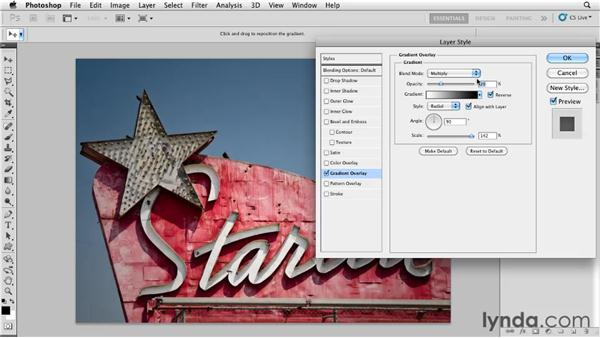 Blending textures with Soft Light: Photoshop for Designers: Textures