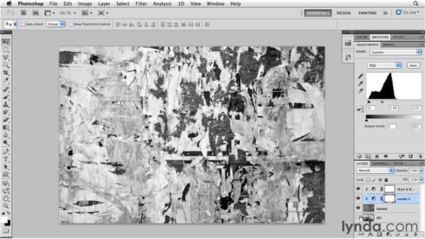 Blending groups: Photoshop for Designers: Textures