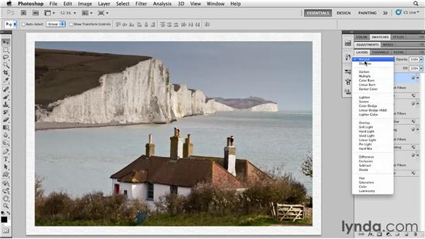 Painting on canvas: Photoshop for Designers: Textures