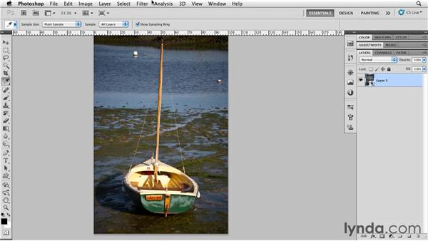 Creating a reticulation effect: Photoshop for Designers: Textures