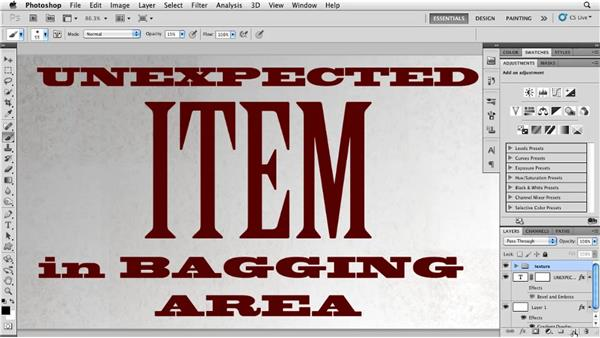 Creating coffee rings: Photoshop for Designers: Textures