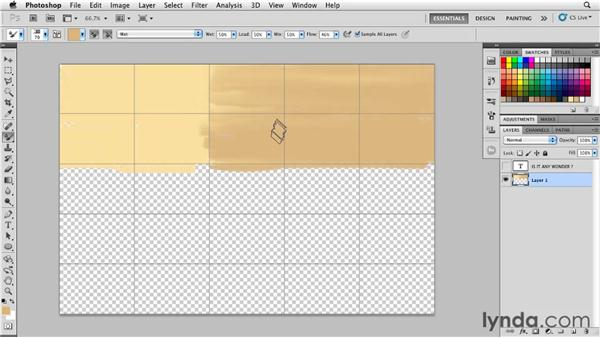 Painting with the Mixer Brush: Photoshop for Designers: Textures