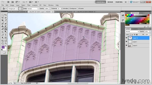 Identifying shadow details as generated or painted: Creating Urban Game Environments in 3ds Max