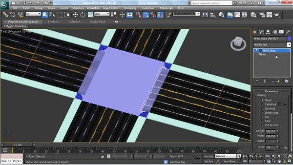 Texturing intersections: Creating Urban Game Environments in 3ds Max