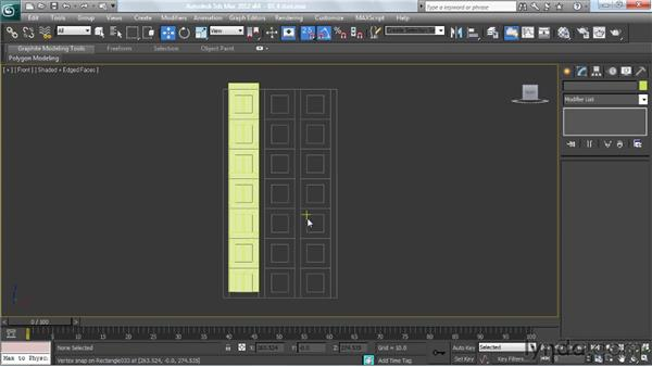 Testing the module for correct floor-to-floor heights: Creating Urban Game Environments in 3ds Max