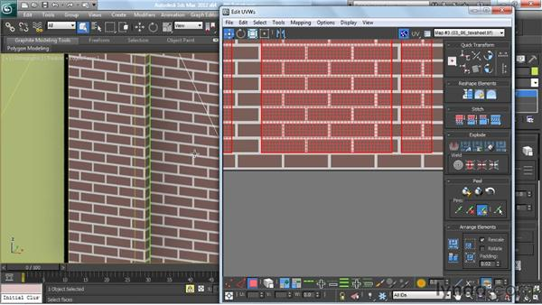 Unwrapping the elements for correct proportion: Creating Urban Game Environments in 3ds Max