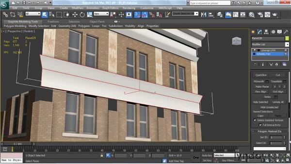 Assigning smoothing groups for optimal shading: Creating Urban Game Environments in 3ds Max