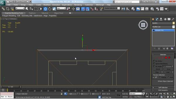 Adding fascias and soffits: Creating Urban Game Environments in 3ds Max