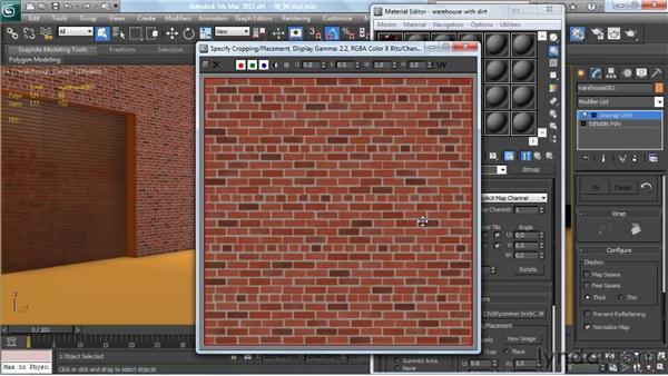 Deciding when to use tiling and non-tiling textures: Creating Urban Game Environments in 3ds Max