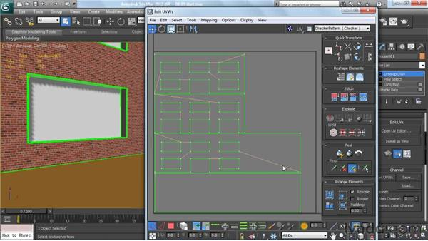 Using multiple mapping coordinates: Creating Urban Game Environments in 3ds Max