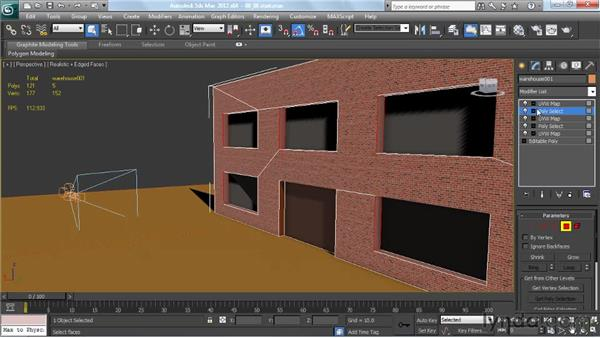 Using multiple unwrap modifiers: Creating Urban Game Environments in 3ds Max