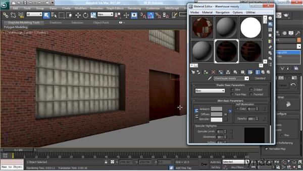 Assessing the quality of occlusion as a cinematic mood: Creating Urban Game Environments in 3ds Max