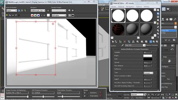 Overview of the Ambient Occlusion shader: Creating Urban Game Environments in 3ds Max