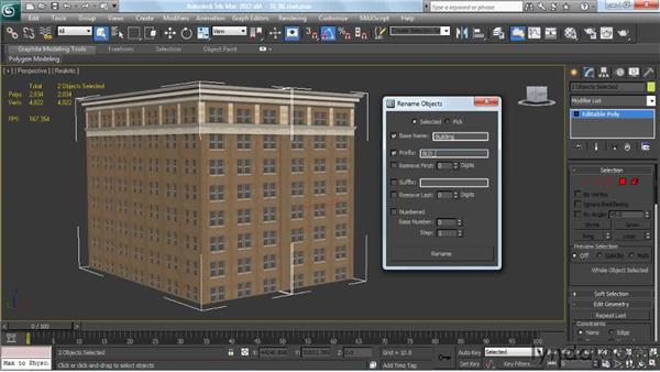 Renaming tools in 3ds Max: Creating Urban Game Environments in 3ds Max