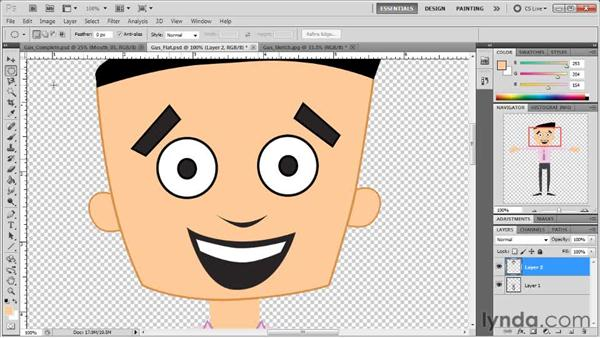 Creating characters in Photoshop: Creating Animated Characters in After Effects
