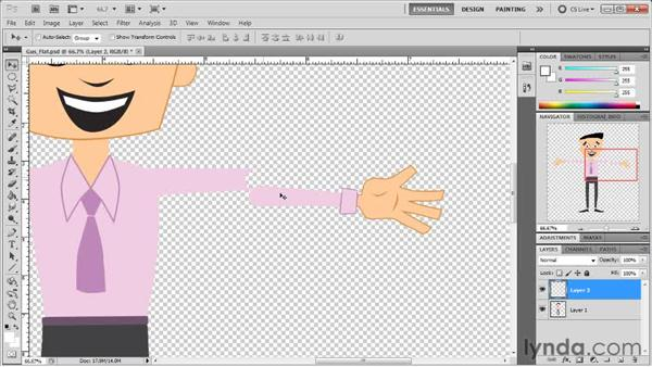 Designing joints: Creating Animated Characters in After Effects
