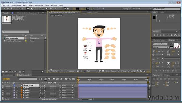 Copying paths from Illustrator: Creating Animated Characters in After Effects